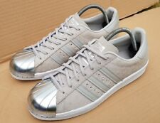 1da3cf8880c8 ADIDAS SUPERSTAR 80 S TRAINERS GREY SUEDE POLKADOT METAL TOE IN SIZE 5 UK  RARE