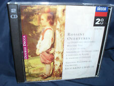 Rossini - Overtures -Chailly / National PO -2CDs
