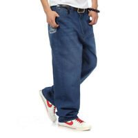 ECKO Mens Jeans Loose Fit Teens Big Boys Denim Pants Thick HipHop Size 16 30in