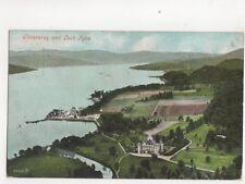 Inveraray & Loch Fyne 1908 Postcard 165b