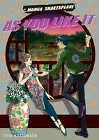 Manga Shakespeare: As You Like It Shakespeare, William VeryGood