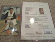Roberto Clemente Signed Auto 5x8 Art Card JSA