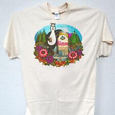 Hamms Beer, Bear, Cool, Classic, Vintage, Ivory T-Shirts Sz: S-5Xl, T-1672