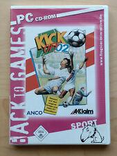 Kick Off 2002 (PC, 2002, DVD-Box) Back to Games Edition, Fussballspiel
