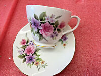 BS1 vintage Beautiful Duchess Bone China Made In England Tea Cup & Saucer