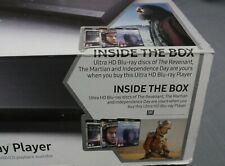 Samsung UBD-K8500 Smart 4k Ultra HD, UHD, 3D Blu-ray / DVD Player + 3 UHD Movies