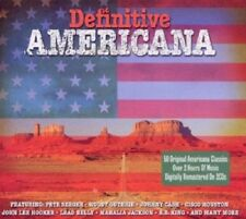 Definitive Americana 2-CD NEW SEALED Pete Seeger/Woody Guthrie/B.B. King/Weavers