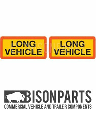 * Truck & Trailer BS AU152 posteriore Marker Board Lungo Veicolo COPPIA IN ALLUMINIO BP76-134