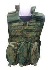 singapore army loadBearing Ballistic Plates Carrier Vest - M size Rare