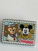 DLR Deluxe Starter Set Postcards Duffy At Mickey's Fun Wheel Disney Pin (B7)