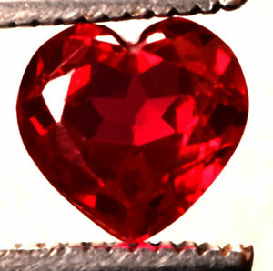 12.35 Cts. Natural Mozambique Red Ruby Heart Shape Certified Gemstone