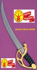 Cutlass Pirate Sword Buccaneer Cosplay 4 Kids Adults Plastic by Rubies