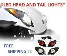 2007 & Up Yamaha Drive (G29)Golf Cart LED Headlight and LED Tail Light Light Kit