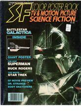 WoW SF Color Poster Book #2 Battlestar Galactica! Buck Rogers! Superman! Poster!