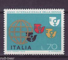 Italia N. 1491 ** Anno internazionale della donna