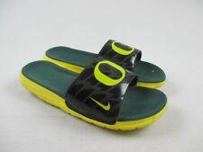 Nike Oregon Ducks Benassi Solarsoft Slides Sandals & Flip Flops Men's Used 13