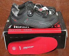 Mens Louis Garneau Carbon LS-100 Road Cycling Shoe Black/Silver 38 EU/US 5 NIB