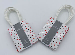 Valentine Gift Bags - Lot Of 2 - 10 Bags - Small - New - E