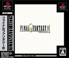 Used PS ONE Final Fantasy IX CAPCOM PS 1 SONY PLAYSTATION JAPAN IMPORT