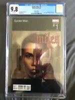 SPIDER-MAN #1 CGC 9.8 Miles Morales Adi Granov NAS Hip Hop Variant