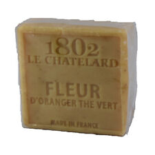 Savon Fleur d'Oranger et Thé Vert sans huile de Palme - Le Chatelard 1802