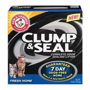 Church & Dwight 02142 14 lbs. Clump & Seal Fresh Home Clumping Cat Litter