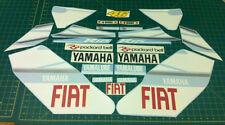YZF-R125 Decals Rossi Fiat Moto GP Stickers Graphics Kit 125