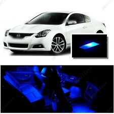 For Nissan Altima Coupe 2008-2013 Blue LED Interior Kit + Blue License Light LED