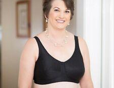 American Breast Care Women's 103 Rose Contour Bra Black Size 46 DDD NWT