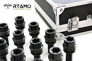 RTAMO | M14x34L(29s) Porsche GT3/Cayenne Titanium Gr5 T80 R14 2-Piece Wheel Bolt