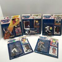 Kenner Starting Lineup Baseball 1992 & 1993 mix  5 lot Collectible