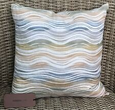 BEAUTIFUL MISSONI HOME WAVE DESIGN LINEN THROW PILLOW - NEW w/ TAGS