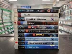 PS3 Games Bundle Job Lot [Motorstorm, LEGO, Plants vs Zombies]