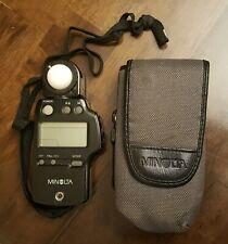 Minolta Light Auto Meter IV F W/Case