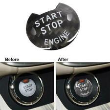 For Infiniti Q50 Q60 2017-2019 Carbon Fiber Engine Start Stop Push Button Cover