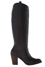 Lucky Brand Womens' Knee High Riding Boots Ebbie Black Size 10 M