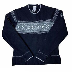 Columbia Womens Size M Blue Super Soft Knit Sweater