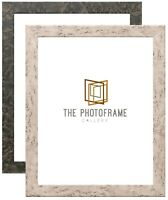 Marble Effect Vintage White/Black Picture Photo Frame All size A1 A2 A3 A4 A5 A6