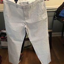 J Crew Mens Bedford Pants W 36 L 30 Seersucker