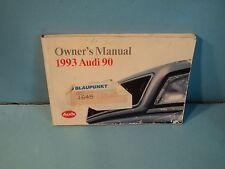 93 1993 Audi 90 owners manual