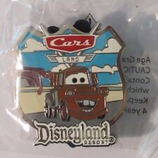 Disney Dlr Aaa Travel Company Cars Land Tow Mater 2013 Pixar Cars Pin & Lanyard