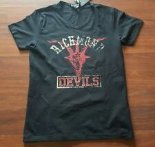Richmond Denim 'Devils' t shirt, size Large, Black, Made in Italy,  New, NWT