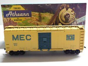 HO Scale - Athearn - Maine Central 40' Box Car Train MEC #8079