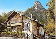 Little Red Riding Hood House Oberammergau Germany Oversize vintage postcard g