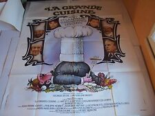 """Affiche Ciné  """"LA GRANDE CUISINE""""  Ted Kotcheff - 1977  (Ferracci  120 x 160 cm)"""