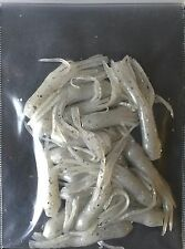 Midsouth Tackle Crappie Baits Soft Tube Jig 18 Count Pearl With Silver Flakes