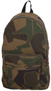 Fred Perry Men's Backpack Camouflage Arktis Backpack Bag