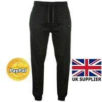 Donnay Mens Joggers Pant Sweat Pant Joggers Black and Charcoal Marl 2017 New
