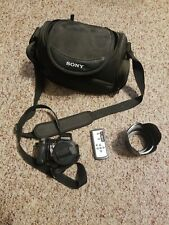 Sony Cybershot DSC H7 8.1 MP 15 X Optical zoom With Case!