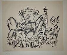 Abstrakte Original-Lithographien (1950-1999) aus Deutschland/